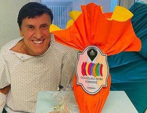 Gianni Morandi è stato dimesso dall'ospedale: 'Le sue condizioni di salute sono buone'