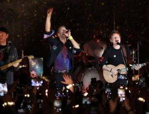 Coldplay e Ed Sheeran insieme in concerto a Londra